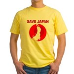 save japan Yellow T-Shirt