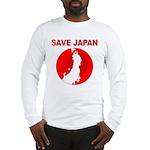 save japan Long Sleeve T-Shirt