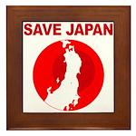 save japan Framed Tile