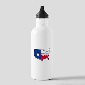 Problem Solved Flag Water Bottle