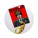 Catch Gaddafi Ornament (Round)