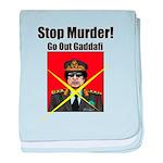Stop murder ! Gaddafi baby blanket