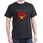 Stop murder ! Gaddafi Dark T-Shirt