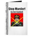 Stop murder ! Gaddafi Journal