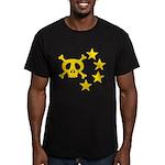 kuuma skull star Men's Fitted T-Shirt (dark)