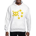 kuuma skull star Hooded Sweatshirt