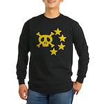 kuuma skull star Long Sleeve Dark T-Shirt
