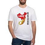 kuuma china 3 Fitted T-Shirt
