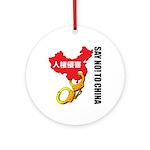 kuuma china 3 Ornament (Round)