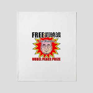 kuuma free Liu Xiaobo Throw Blanket