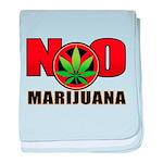 kuuma NO marijuana baby blanket