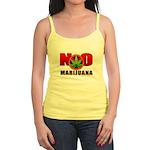 kuuma NO marijuana Jr. Spaghetti Tank