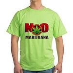 kuuma NO marijuana Green T-Shirt