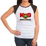 kuuma NO marijuana Women's Cap Sleeve T-Shirt