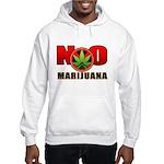 kuuma NO marijuana Hooded Sweatshirt