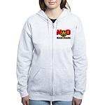 kuuma NO marijuana Women's Zip Hoodie