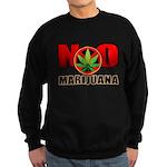 kuuma NO marijuana Sweatshirt (dark)