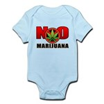 kuuma NO marijuana Infant Bodysuit