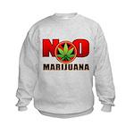 kuuma NO marijuana Kids Sweatshirt