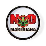 kuuma NO marijuana Wall Clock