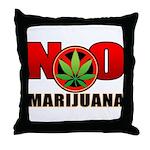 kuuma NO marijuana Throw Pillow