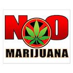 kuuma NO marijuana Small Poster