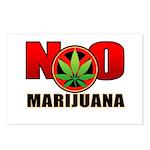 kuuma NO marijuana Postcards (Package of 8)