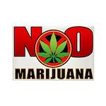 kuuma NO marijuana Rectangle Magnet