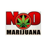 kuuma NO marijuana Rectangle Magnet (100 pack)