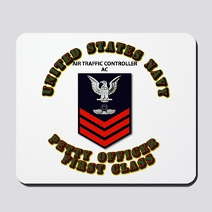 Navy - Air Traffic Controller - PO1 with Text Mous