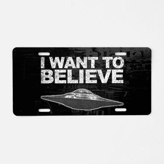 Believer Aluminum License Plate