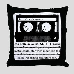 Cassette - Definition Throw Pillow