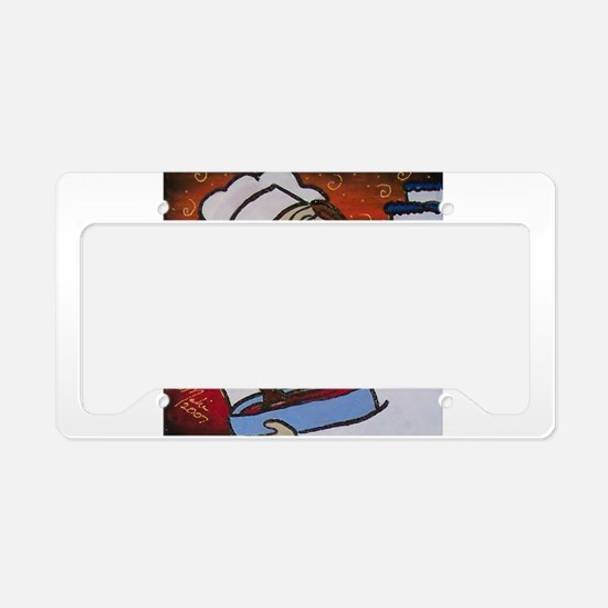 Pastry Chef License Plate Holder