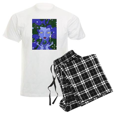 Water Elemental Men's Light Pajamas