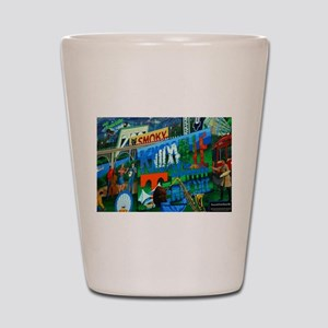 Knoxville, TN Mural Shot Glass