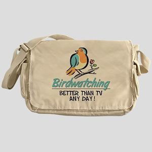 Birdwatching Messenger Bag