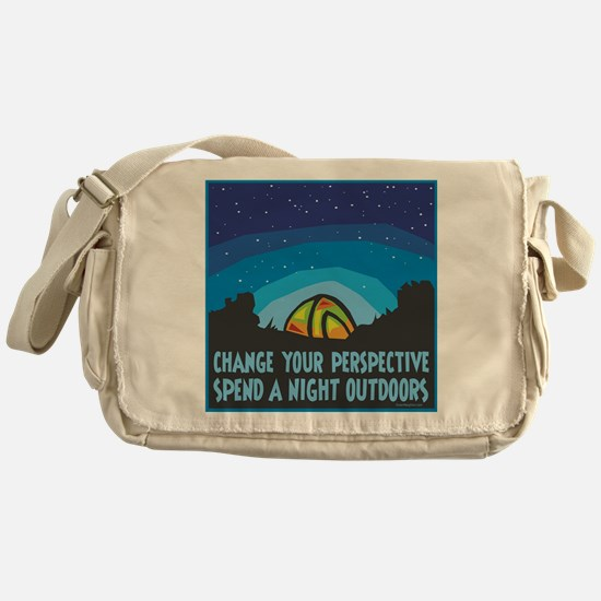 Tent Camping Messenger Bag