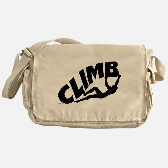Rock Bouldering Messenger Bag