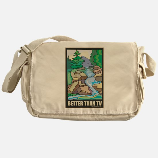 Outdoors Nature Messenger Bag