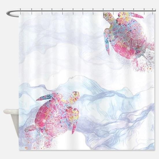 Funny Splash Shower Curtain