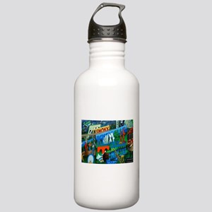 Knoxville, TN Mural Stainless Water Bottle 1.0L