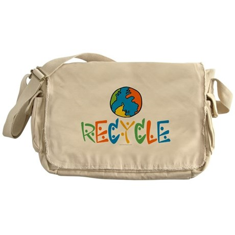 Recycling Messenger Bag