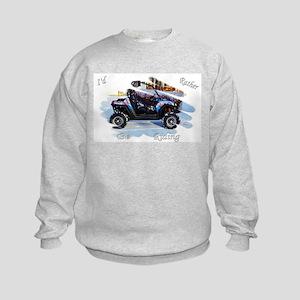 Id Rather be Ridin ! Sweatshirt