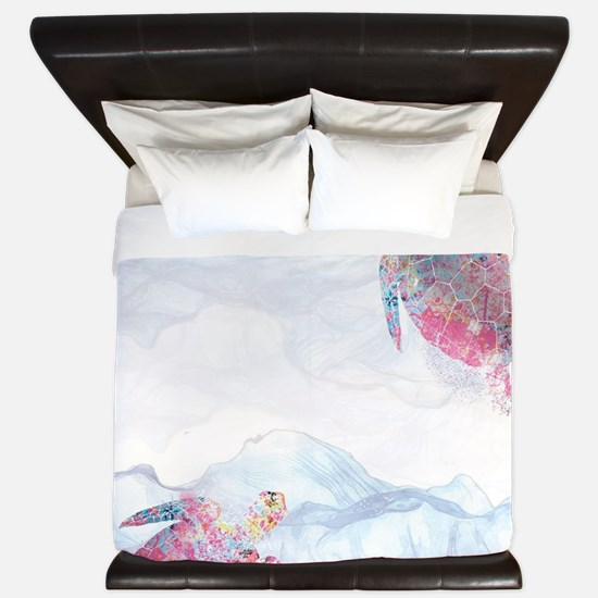 Turtle King Duvet