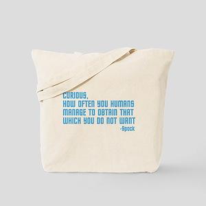 Curious... Tote Bag