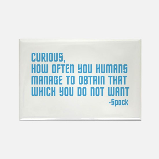 Curious... Rectangle Magnet (10 pack)