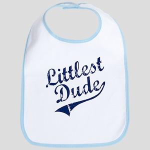 LITTLEST DUDE (Script) Bib