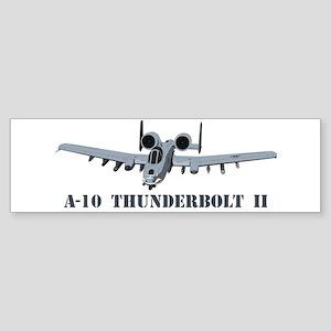 A-10 Thunderbolt II Sticker (Bumper)