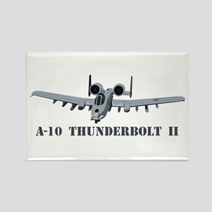 A-10 Thunderbolt II Rectangle Magnet