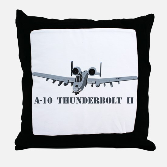 A-10 Thunderbolt II Throw Pillow